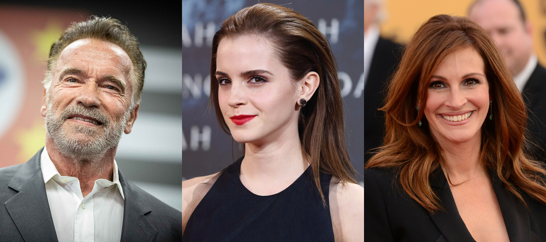 Arnold Schwarzenegger, Emma Watson & Julia Roberts - Des introvertis sociables