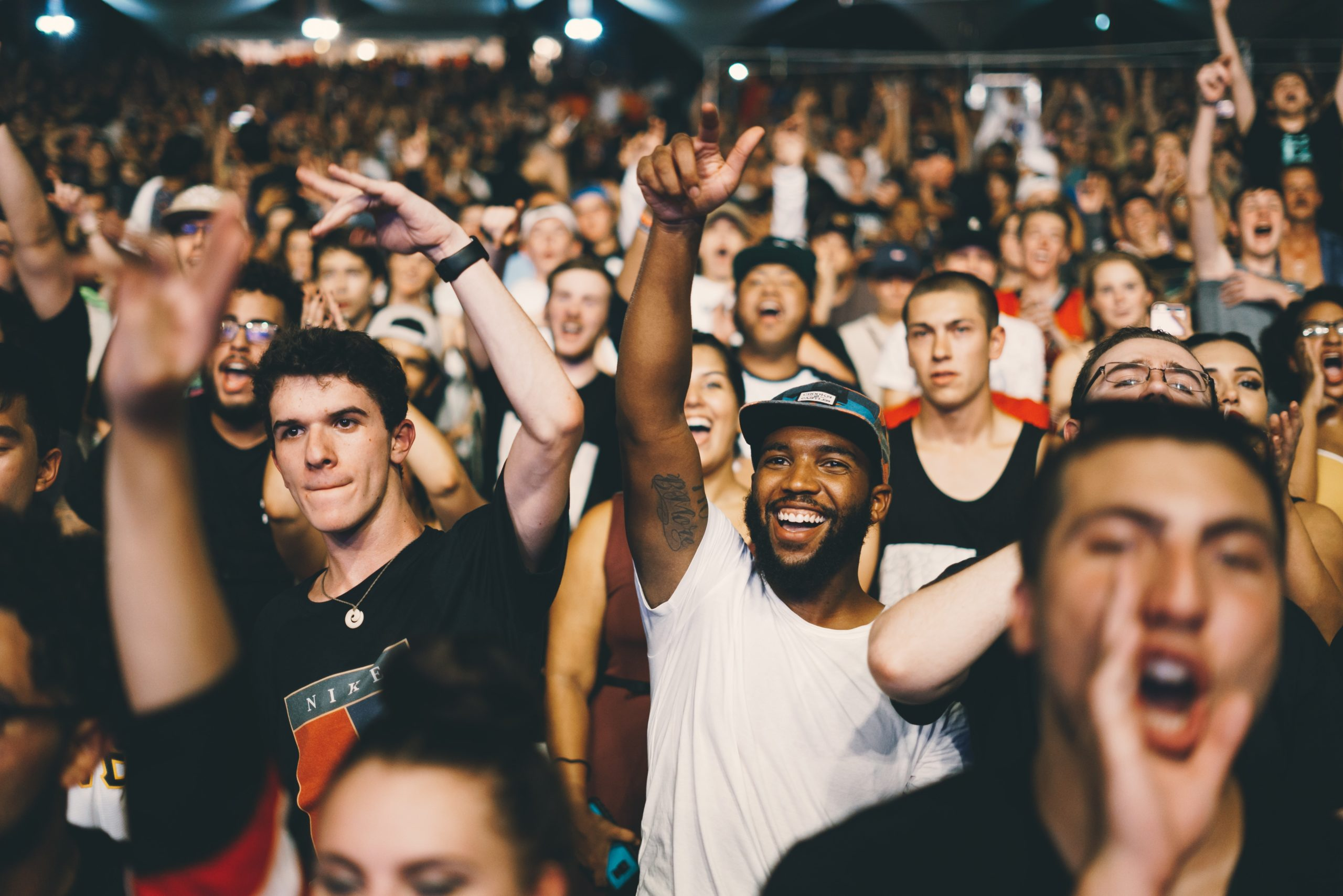 Les concerts & la foule - un monde plutôt pour les extravertis
