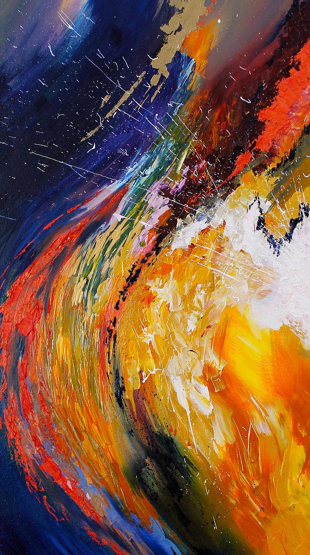 Peinture de Melissa McCracken de la musique Hallelujah - Jeff Buckley