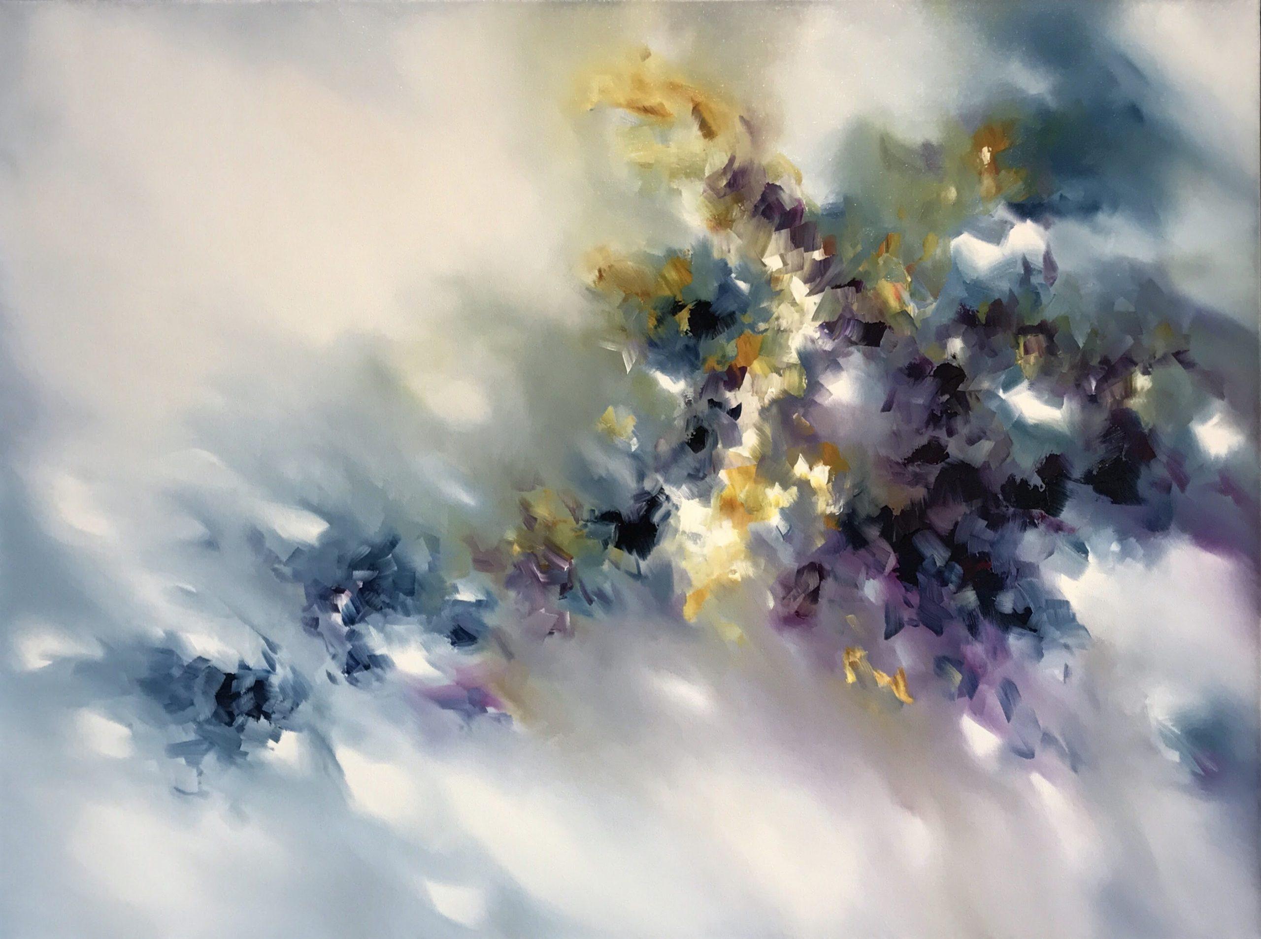 Peinture de Melissa McCracken de la musique Radiohead - True love waits