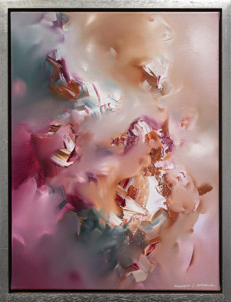 Peinture de Melissa McCracken de la musique Bon Iver - Bloodbank