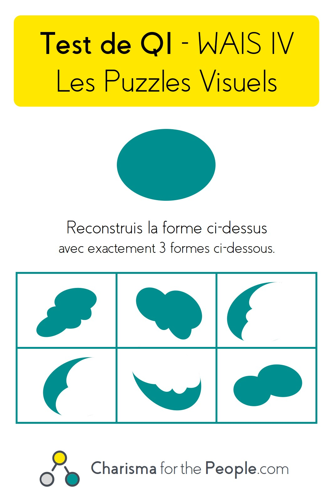 Test WAIS 4 - Test de QI - WAIS 4 - L'épreuve des Puzzles Visuels