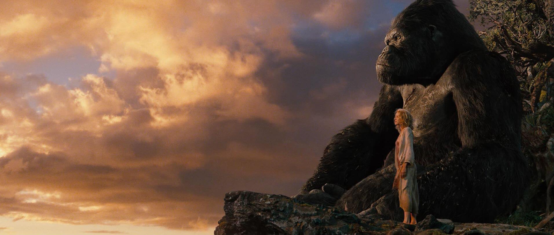 King Kong et Naomi Watts face à l'horizon - article sur la surefficience mentale