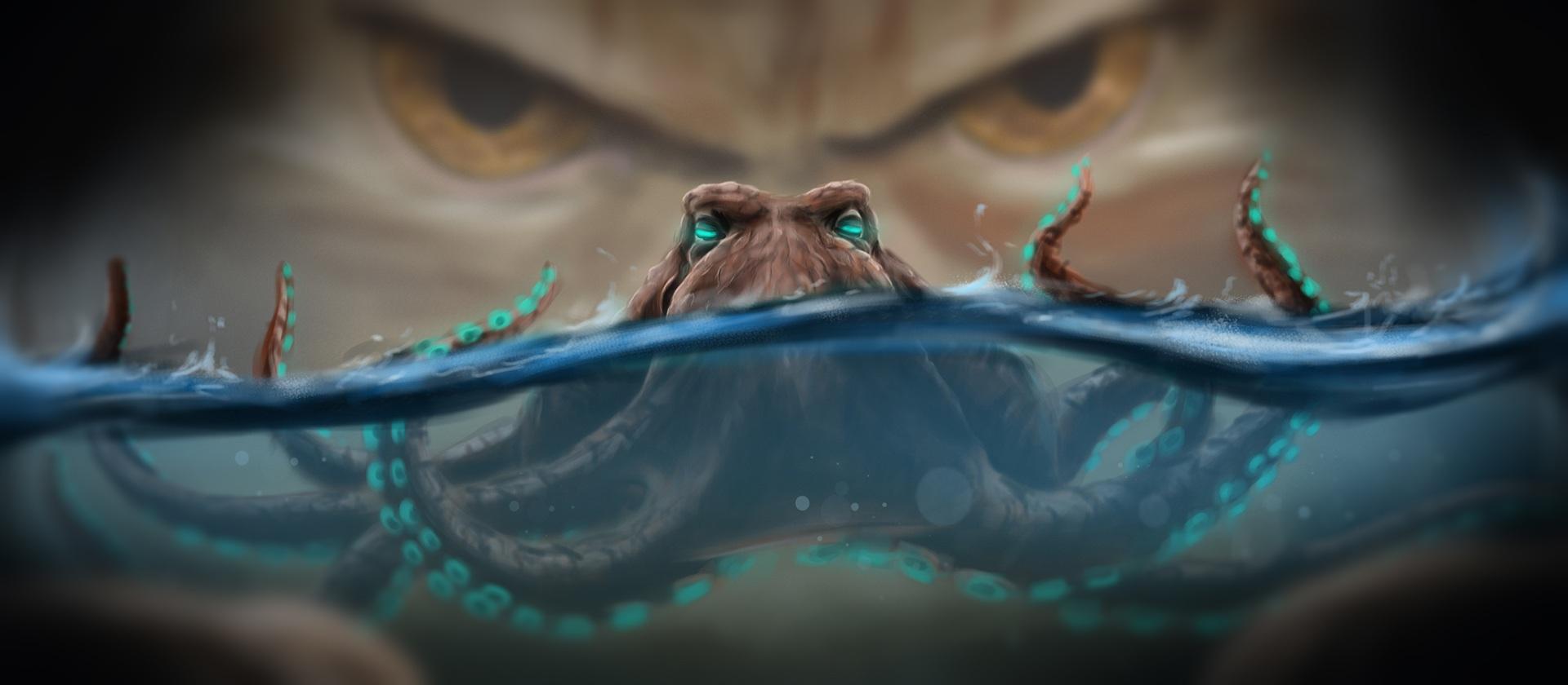 La pieuvre qui représent le problème tentaculaire - Schémas et mécanismes de défense